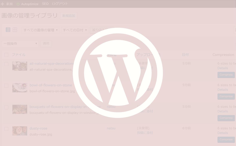 WordPressプラグインtinypngで画像圧縮